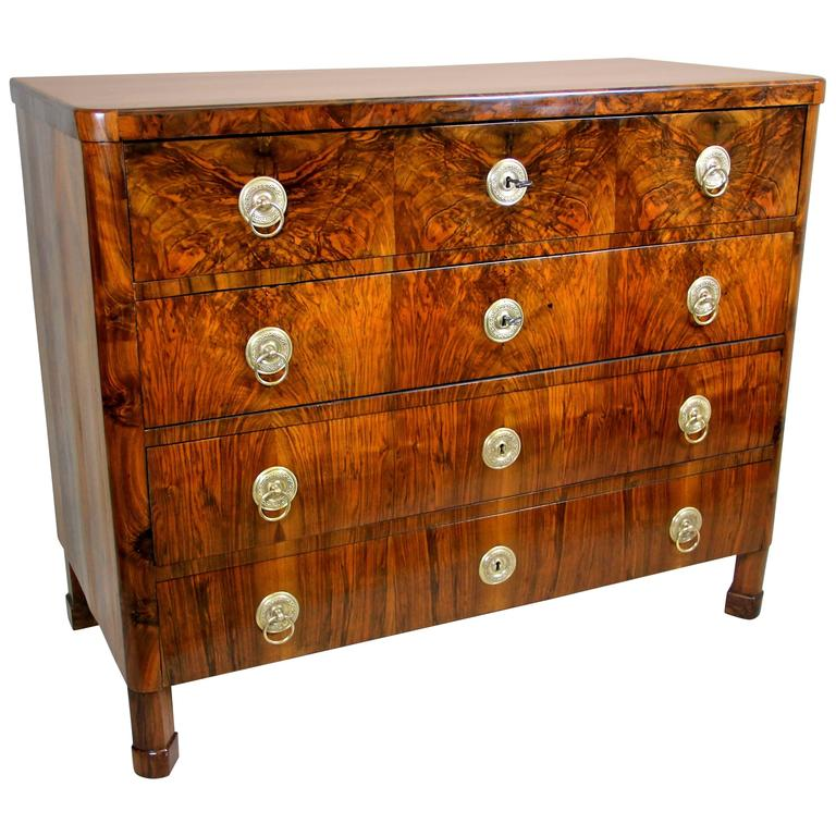 We proudly present to you this outstanding Biedermeier writing commode from Austria, circa 1830 coming fresh out of our restoration workshop.