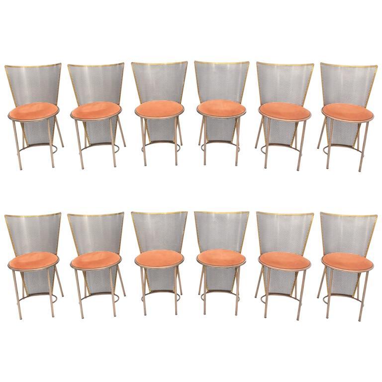 Limited Edition Expo '92 Brass Chairs