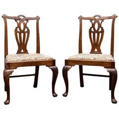 Pair of Irish George II Chairs