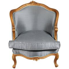 20th Century French Armchair Louis Quinze Baroque Style