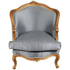 Unique French Armchair Louis Quinze Baroque Style