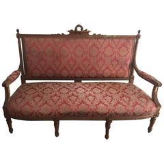 Early 20th Century Italian Settee Couch