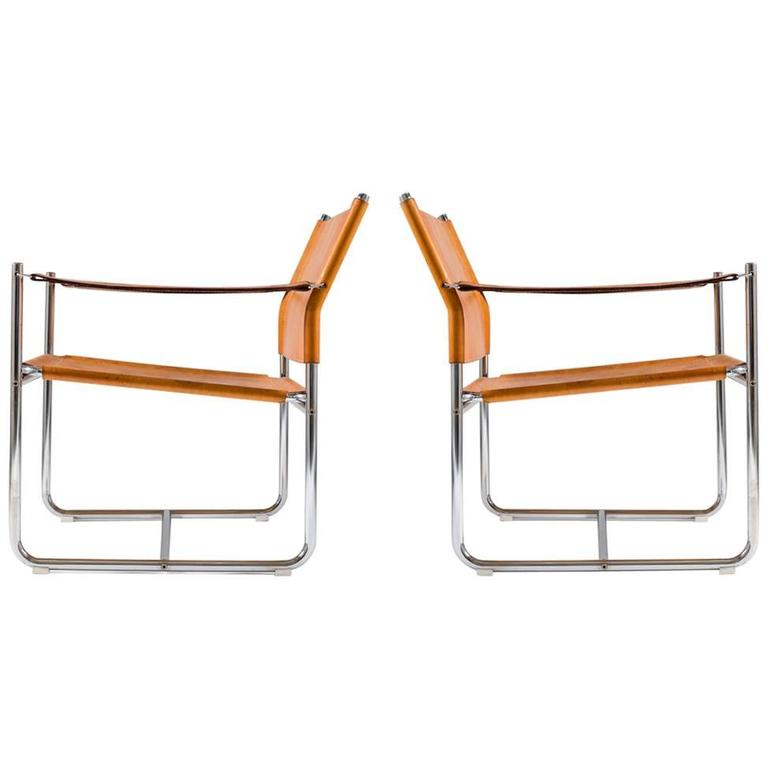 "Scandinavian Modern Easy Chairs ""Amiral"" by Karin Mobring"