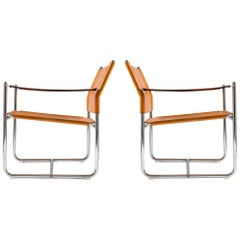 """Scandinavian Modern Easy Chairs """"Amiral"""" by Karin Mobring"""