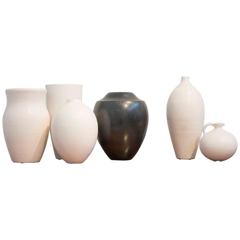 Suzanne Ramie-Madoura, Selection of Ceramic Vases