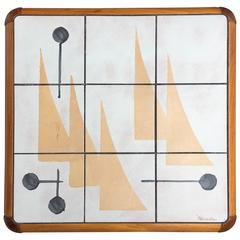 Danish Mid-Century Modern Table by Poul H. Poulsen for Gangsø Møbler