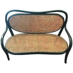 """Thonet Childrens Canapée nr 1 """"1904"""" Marked"""