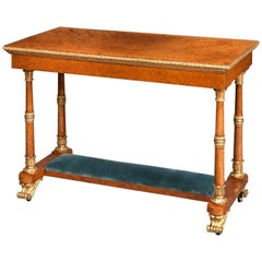 Royal Table Made for Windsor Castle and Commanded by George IV