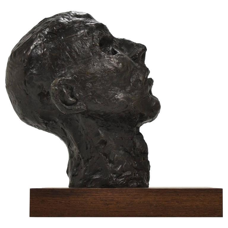 Bronze Bust or Head Sculpture