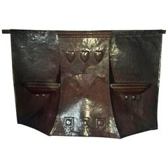 Unique Arts and Crafts Copper Fire Hood, Attributed to M H Baillie Scott