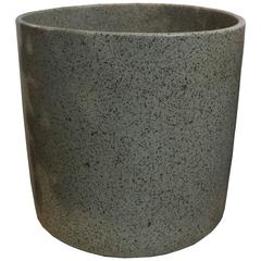 Mid-Century Modern David Cressey Stone Grey Glaze Planter Pro Artisan Collection