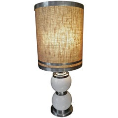 French Vintage Table Lamp, 1970s