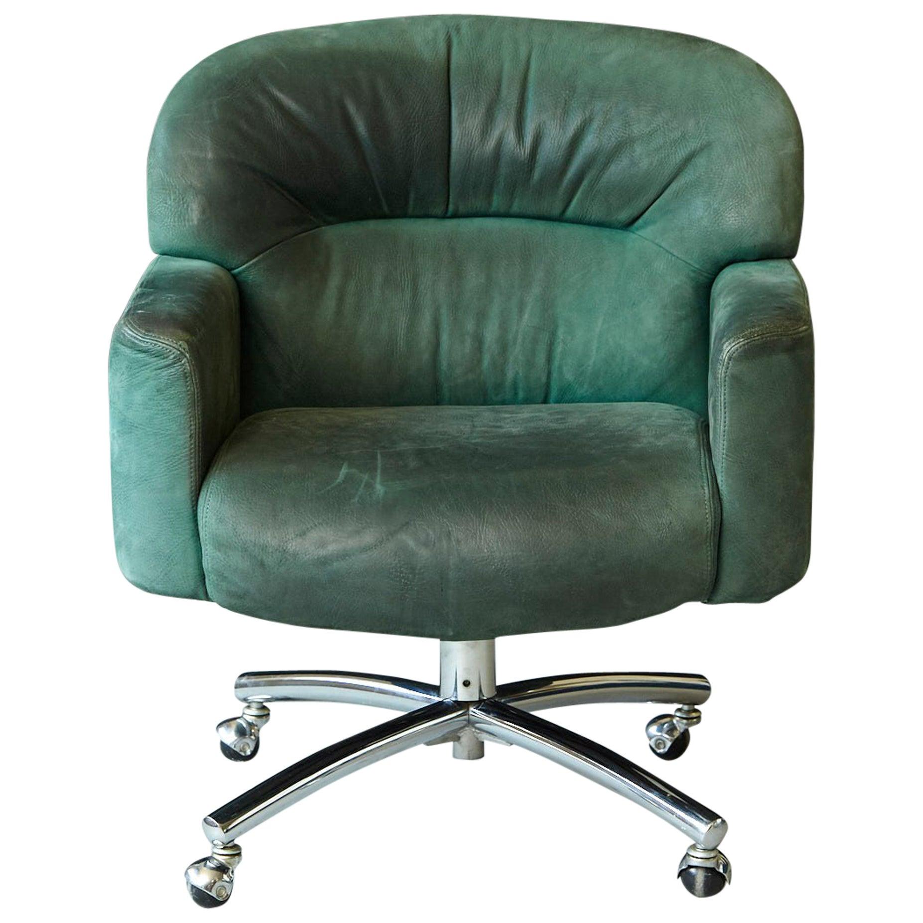 Ideal 1920s Solid Oak Office Armchair by W.H. Gunlocke Chair Co at 1stdibs XX18