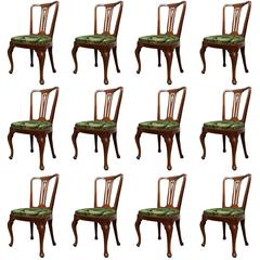 Set of Twelve Louis XV Dining Chairs