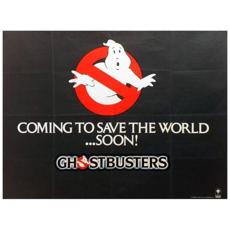 """""""Ghostbusters"""" Film Poster, 1984"""