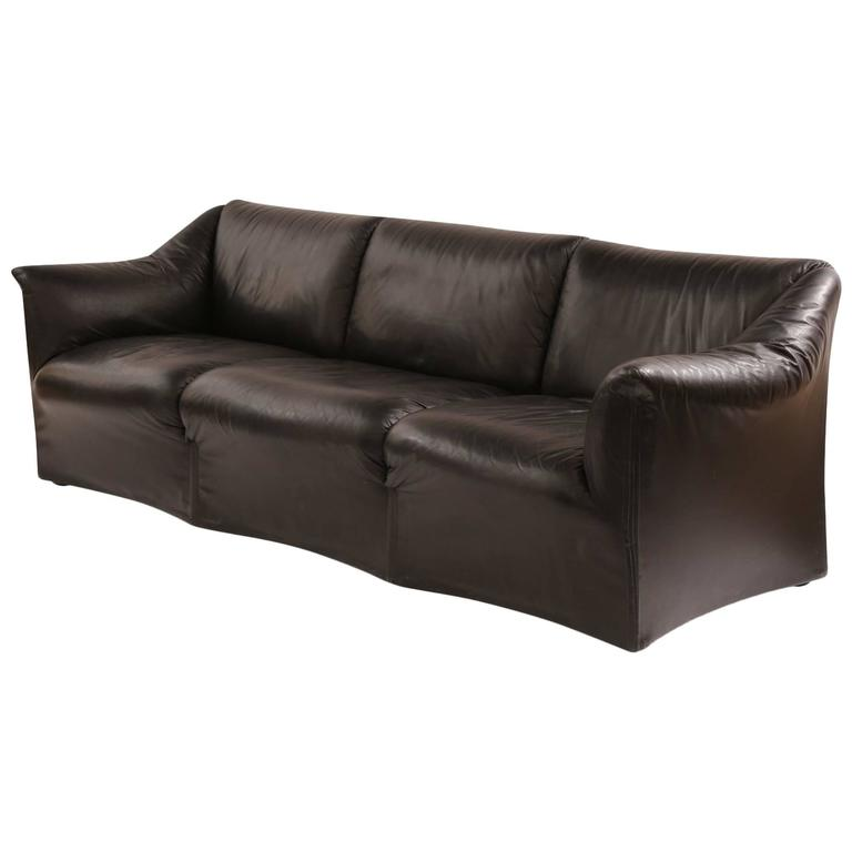 Mario Bellini for Cassina 'Tentazione' Leather Sofa