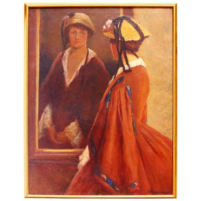 Impressionist Portrait Painting