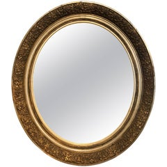 19th Century French Gilded Mirror