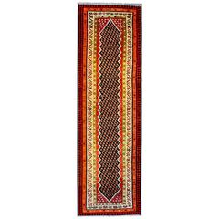 Wonderful Mid-20th Century Kurdish Kilim Runner