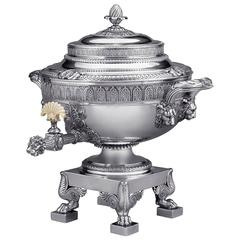 19th Century Paul Storr Silver Tea Urn