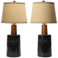 Pair of Table Lamps by Gordon Martz