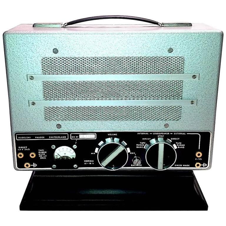 Cinema Portable Nagra Sound Recording Amplifier / Speaker As Sculpture. ON SALE!