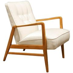 Early and Rare DUX Lounge Chair by Folke Olhsson for DUX, 1950s