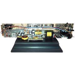 Vintage TV Test Equipment Circuit Board Sculpture By Bill Reiter. ON SALE
