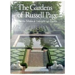 "Rare ""Gardens of Russell Page"" Book, 1990 First Edition"