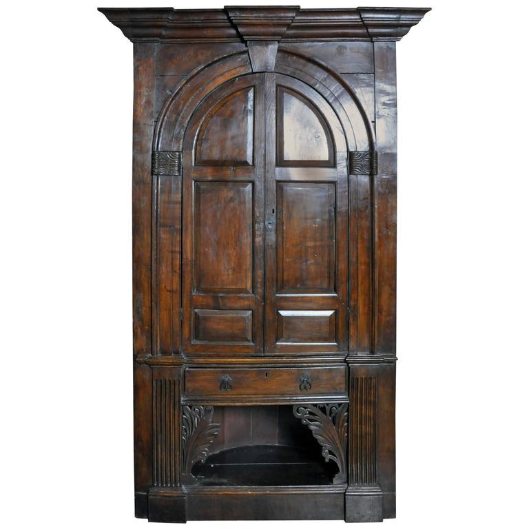 English Corner Cabinet