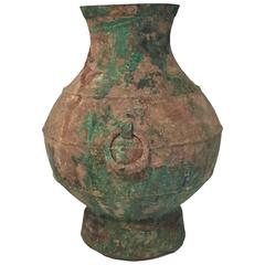 Ancient Chinese Bronze Ritual Wine Vessel