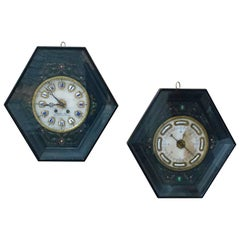 Napoleon III Clock and Barometer Set