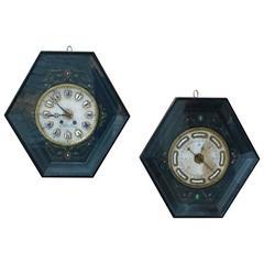 Napoleon III Clock and Barometer Set