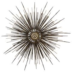Multi-Tiered Sunburst Wall Sculpture