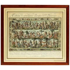 Tableau Des Principaux Peuples d'amerique, Par Jacques Grasset St Sauveur