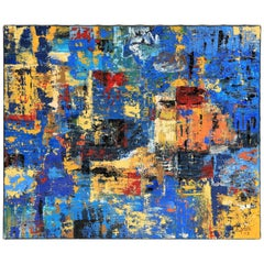 Golain Abstraction Oil on Canvas, 2003