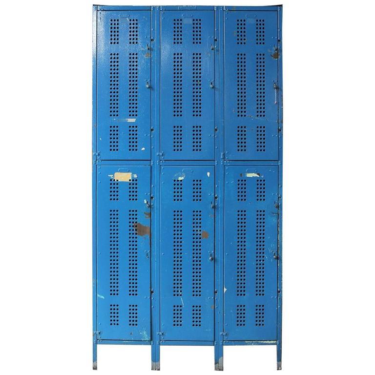 1930s american school metal lockers 1 - Metal Lockers