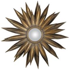 Gold Gilt French Sunburst Mirror