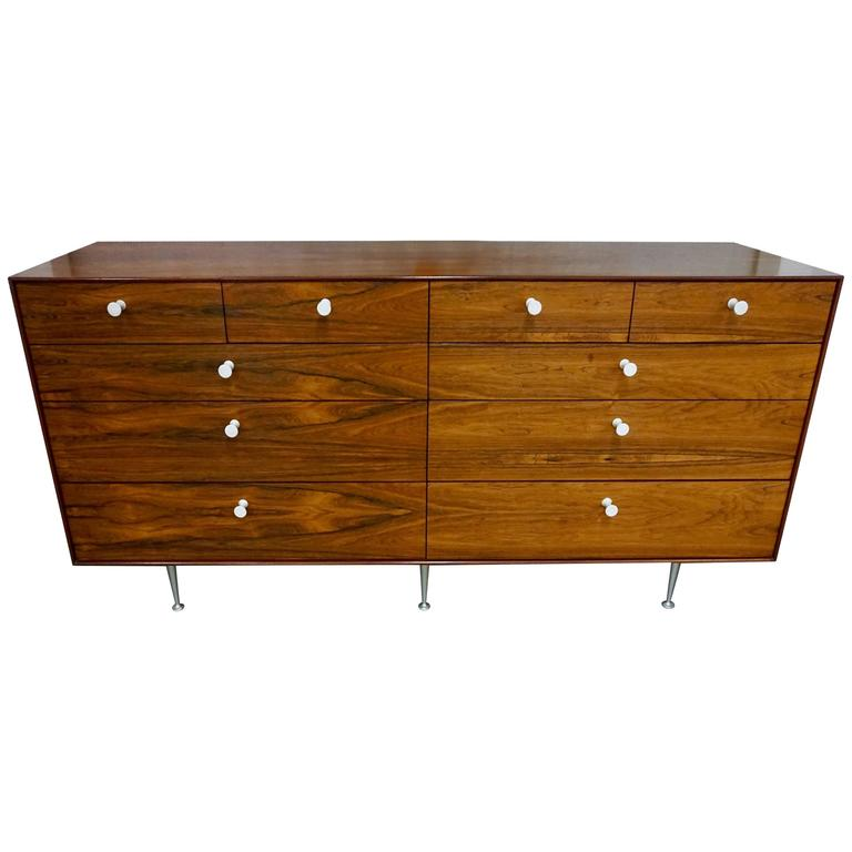 George Nelson Rosewood Chest of Drawers 1