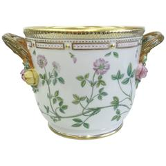 "Royal Copenhagen ""Flora Danica"" Porcelain Wine Cooler"