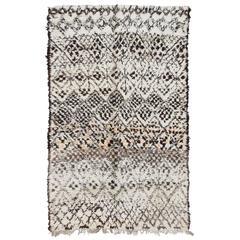 Vintage Moroccan Marmoucha Rug