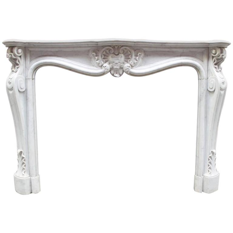 Exclusive Antique Marble Fireplace Mantel For Sale At 1stdibs