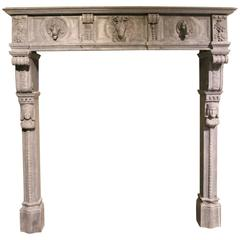 Very Beautiful Antique Fireplace mantel