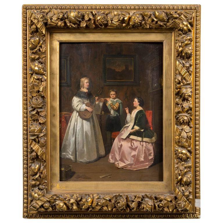 Antique Dutch Painting For Sale