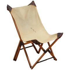 Vintage Campaign Chair