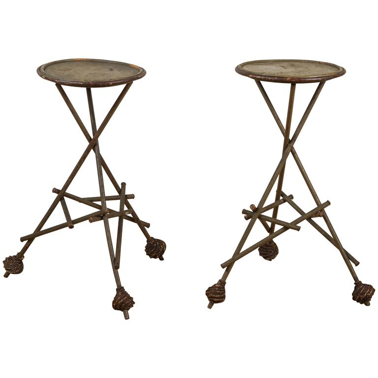 Late Victorian Wooden Side Tables 1