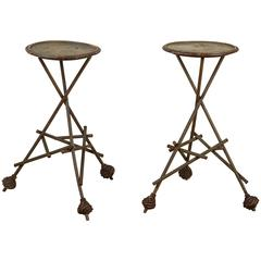 Late Victorian Wooden Side Tables