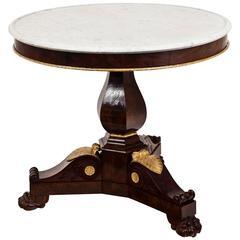 Charles X Salon Table, circa 1820