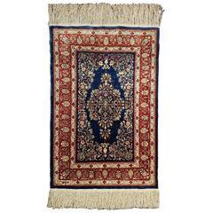 20th Century Hereke Silk Prayer Rug