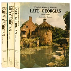 English Country Houses, Early, Mid and Late Georgian, Limited Editions